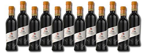 Landwein Rot Halbtrocken (12 x 0.25 l) (0.25)
