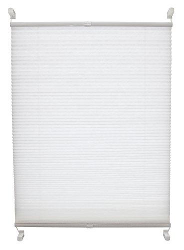 Tilldekor Wabenplissee SIMPLY FIX, 40 x 130 cm, weiß, tageslicht