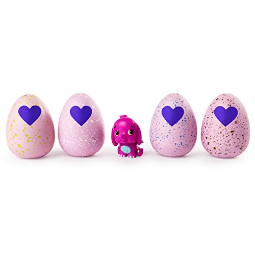 Hatchimals CollEGGtibles Season 2 – 4-Pack + Bonus (Styles & Colors May Vary) by Spin Master