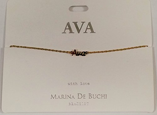 Ava benannt Marina de Buchi Armband vergoldet von Sterling effectz