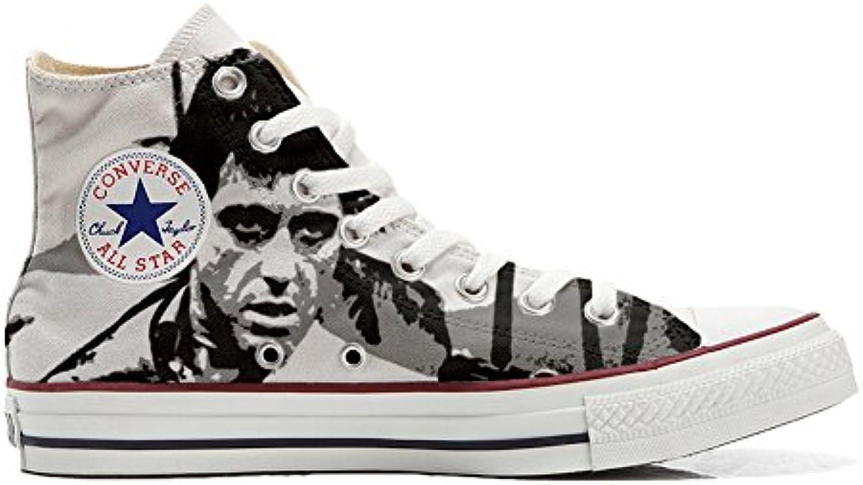 Converse Personalizzate all Star scarpe da ginnastica Unisex (Prodotto Artigianale) al Pacino | Materiali Di Alta Qualità  | Uomini/Donne Scarpa