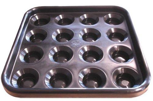 Preisvergleich Produktbild Balltablett,  schwarz,  57mm,  Pool