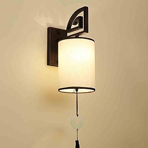 Alip Nuova parete retro lampada minimalista camera da letto comodino cinese illuminazione delle scale corridoio dell