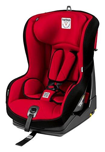PEG PEREGO Seggiolino Auto Viaggio 1 Duo-Fix K TT (9-18 Kg) Rosso Rouge