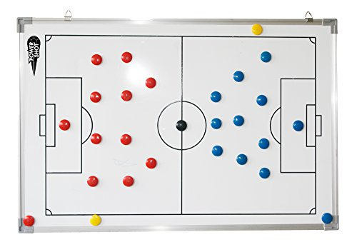 Netsportique Pizarra magnética PARA ESTRATEGIA fútbol