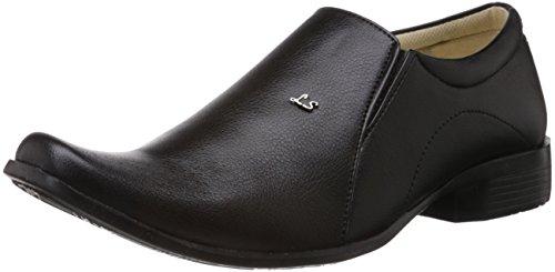 Vokstar Men's Black Formal Shoes - 8 UK (V-6106)