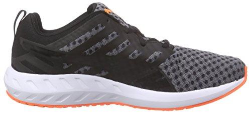 Puma Flare Wn's, Chaussures de Course Femme Noir - Schwarz (black-white-fluo peach 02)