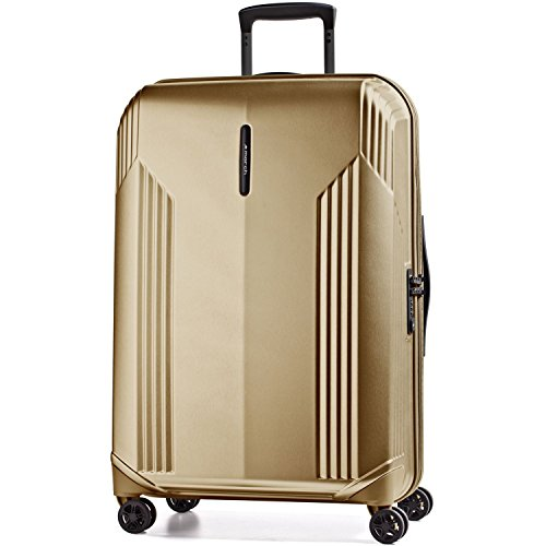 Preisvergleich Produktbild March 15 Koffer XL Hartschale Trolley Bowatex Manhattan Gold