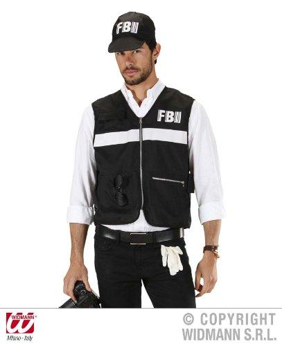 KOSTÜM - FBI TATORTERMITTLER - Größe 50/52 (Männer Halloween Kostüm Fbi)