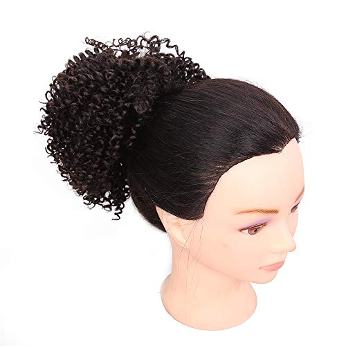 (Wig Curly, Wig Rooted Black Ombre, Women es Heat Resistant Full Curl Wig Short Wavy Layered Natural Hairline Rock Music Festival, Halloween,#4)