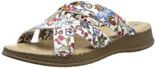 Jenny Damen Casablanca 2217902 Pantoletten, Mehrfarbig (Multi 11), 36 EU -