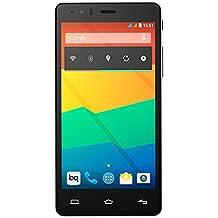 """BQ Aquaris E5 HD - Smartphone libre Android (pantalla 5"""", cámara 13 Mp, 16 GB, Quad-Core 1.3 GHz, 1 GB RAM) blanco y negro"""