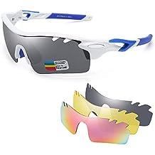 d1d6ac1cbe Jim Halo Polarizadas Deporte Gafas de Sol Para Hombre Mujer UV400  Protección Ciclismo Correr Pescar Anteojos