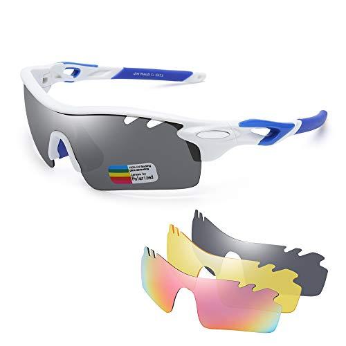 199426531d Jim Halo Polarizadas Deporte Gafas de Sol Para Hombre Mujer UV400  Protección Ciclismo Correr Pescar Anteojos