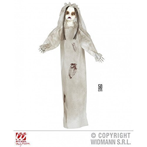 Killer - Puppe ca. 50 cm / Horrorbraut / Horrorpuppe / Gruselfigur / Halloweendeko / Party Dekoration