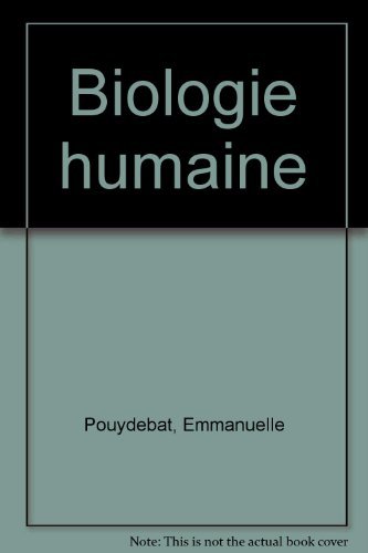 Biologie humaine
