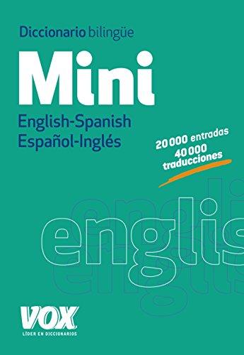 Diccionario mini English-Spanish, español-inglés por Larousse Planeta
