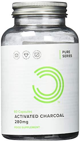 Aktivkohle-bulk (Bulk Powders Aktivkohle-Kapseln 280 mg, 60 Tabletten)
