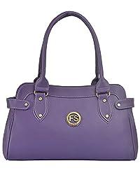 Fostelo Women's Jessy Shoulder Bag (Purple) (FSB-680)