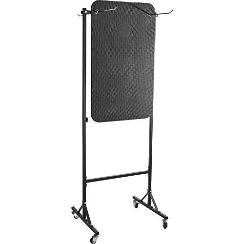 GORILLA SPORTS® Yogamatten-Ständer aus Stahl Schwarz – Halterung für Sportmatten bis 20 kg belastbar