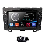 8 inch Digital Touch Screen Car Radio 2DIN stereo in dash For Honda CRV C RV Support di navigazione GPS Bluetooth DVD CD Player RDS Radio Steering Wheel Control USB Subwoofer Aux Cam di in