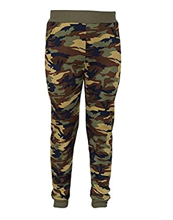 Krystle Women's Ankle Length Army Camouflage Leggings (Kry-Army-Legging-Dark Green ,Camouflage ,Free Size )