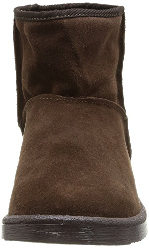 Blk Coffee Marron Black Ume Ps Suede Boot Stiefeletten Coffee Braun Stiefel amp; PIECES Damen qXIAxw