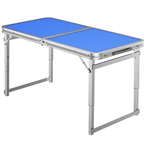 Pet Grooming Tisch Klapptische Bad Scher Reparatur Haarkosmetikum Tabellen Klappbaren Tragbaren Operationstisch, Ausziehbar HöHe (Blau) - Höhe Klapptisch
