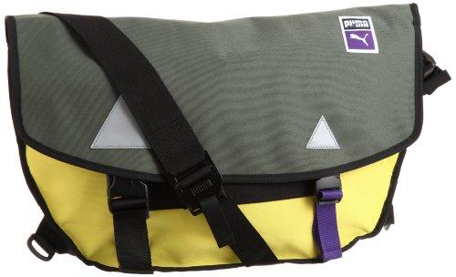 Puma Traction Courier Bag, Unisex - Erwachsene Messengerbag, Größe:one size;Farbe:grün (Messenger Puma Bag)
