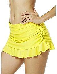 Shorts de natation pour Femme hibote Maillot de Bain Été élégant Bikini Short