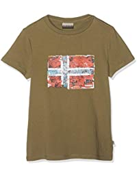 ee5c2e95c Napapijri K Seitem New Olive Green - Camiseta Niños