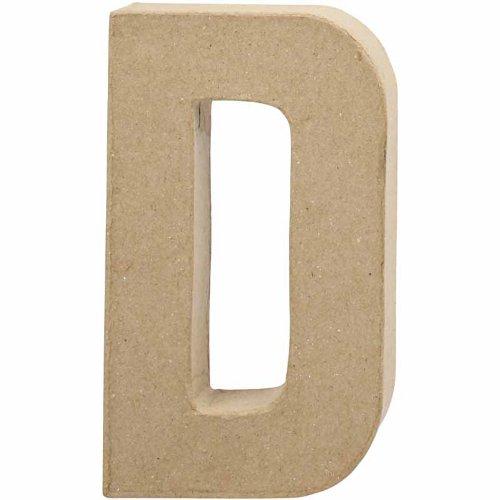 creativ-205-cm-1-piece-papier-mache-letter-d