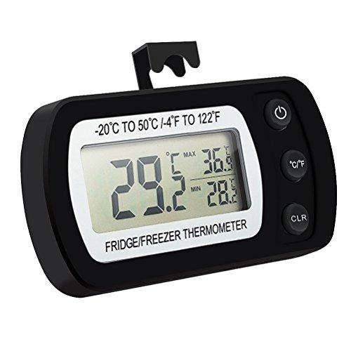 ounona frigorífico termómetro resistente al agua Mini nevera congelador Termómetro Digital con...