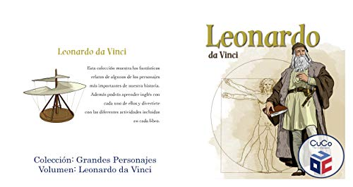 LEONARDO DA VINCI : GRANDES PERSONAJES por CUCO COMPANY AMERICA CORP CUCO COMPANY AMERICA CORP