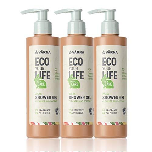ial, 225 ml, ohne Parfüm zum sanften Duschen für Babys und Familie, 3er Pack, ()