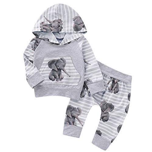Xshuai for 0-18 Months Kids Fashion Cute Newborn Infant Toddler Baby Boy Girl Dinosaur Hooded Romper Jumpsuit Outfits Clothes