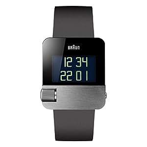 Braun Prestige Uhr Unisex-Armbanduhr Digital Quarz - BN0106SLBKG