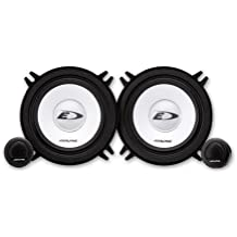 Alpine SXE-1350S - Altavoces (250 W, 60 Hz - 20 kHz, 90 dB/W/m), color negro y plata