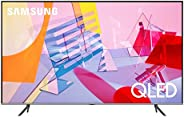 "Samsung TV QE55Q64TAUXZT Serie Q60T Modello Q64T QLED Smart TV 55"", con Alexa integrata, Ultra HD 4K, Wi-"