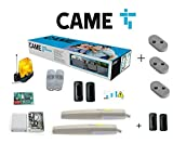 Came AXI25K06 Promo Kit Cancello Battente Motore AXI 24V Anta 2,5m Predisposto Came Connect 8K01MP-006 + 001DIR10 Coppia di Fotocellule Omaggio (3 Telecomandi Bicanali Doppia Frequenza Omaggio)