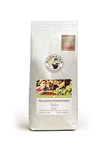 Murnauer Kaffeerösterei, Indien, Malabar - Monsooned, 250 GR (Kaffee Indien)
