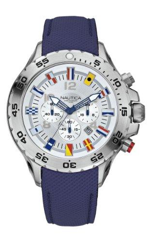 a730552b05c1 Nautica A24513G - Reloj cronógrafo de cuarzo para hombre