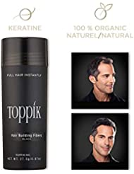 TOPPIK - Fibres Capillaires Densifiantes - Noir - 27,5 g