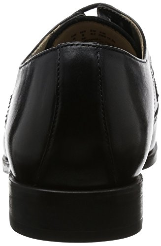 Clarks Amieson Limit, Scarpe Brogue Uomo Nero (Black Leather)