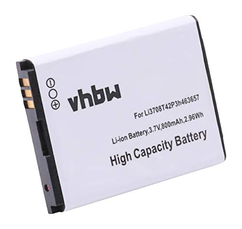 mAh (3.8V) für Handy, Smartphone, Telefon AT&T Z221, Orange Miami, T-Mobile Vairy Touch 2, Vodafone 547 wie Li3708T42P3h463657. ()