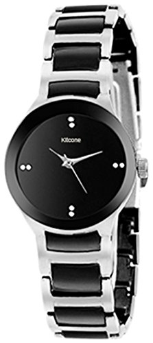 Kitcone Jewellery Bracelet Style Silver Belt Women's Watch -Type-Bm78