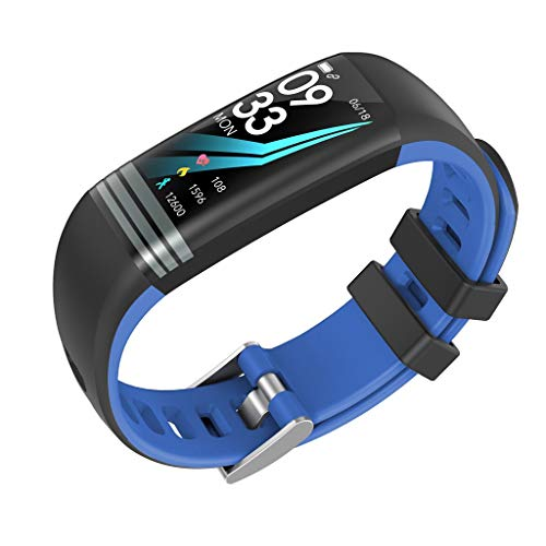 Uhren Hffan Clever Uhren Sport Fitness Aktivität Puls Tracker Blutdruck Sehen, Jungen Mädchen Wasserdicht Outdoor Sport Uhren, Jugendliche Kinder die Electronic Digitaluhren Sport Armbanduhr - Blutdruck-balance