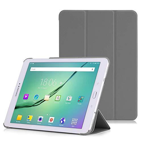 MoKo Hülle Kompatibel mit Samsung Galaxy Tab S2 9.7, Ultra Slim Tasche Schutzhülle Schale Case mit Auto Sleep/Wake up Funktion und Standfunktion für Galaxy Tab S2 9.7
