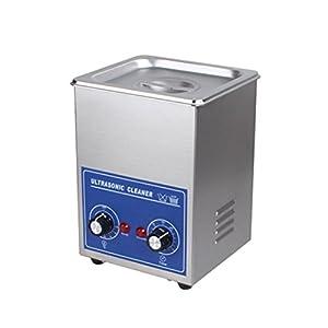 Bvc Ultraschallreiniger Edelstahl Ultraschallreiniger, Heizung Timer Einstellung mit 0-30 Minuten Adjutable (1.3L)