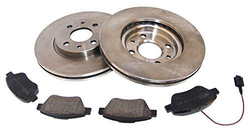 Preisvergleich Produktbild MAPCO 47012 Bremsensatz Vorne Belüftet, 257 mm